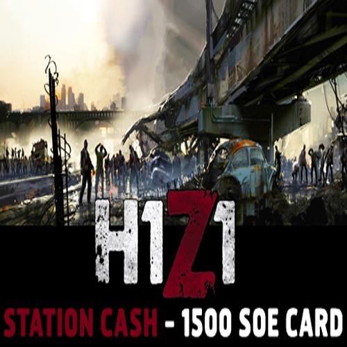 Acheter H1Z1 Station Cash 1500 SoE Gamecard Code Comparateur Prix