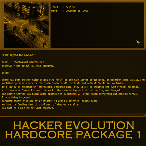 Hacker Evolution Hardcore Package 1