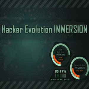 Acheter Hacker Evolution IMMERSION Clé Cd Comparateur Prix