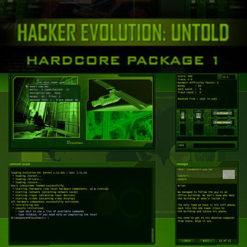 Acheter Hacker Evolution Untold Hardcore Package 1 Clé Cd Comparateur Prix
