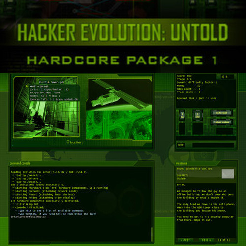 Hacker Evolution Untold Hardcore Package 1