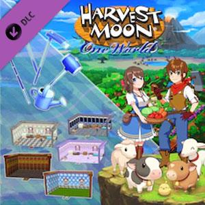 Harvest Moon One World Interior Design & Tool Upgrade Pack