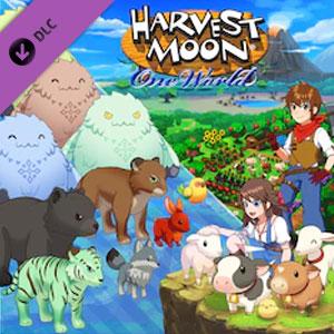 Harvest Moon One World Mythical Wild Animals Pack