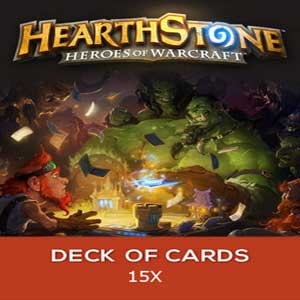 Hearthstone Heroes of Warcraft 15 x Deck of Cards