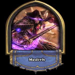 Hearthstone Heroes of Warcraft hero Medivh