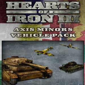 Acheter Hearts of Iron 3 Axis Minor Vehicle Pack Clé Cd Comparateur Prix