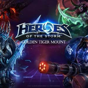 Heroes of the Storm Golden Tiger Mount