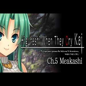 Acheter Higurashi When They Cry Hou Ch.5 Meakashi Clé CD Comparateur Prix