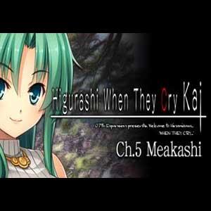 Higurashi When They Cry Hou Ch.5 Meakashi
