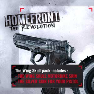 Homefront The Revolution Wing Skull Pack
