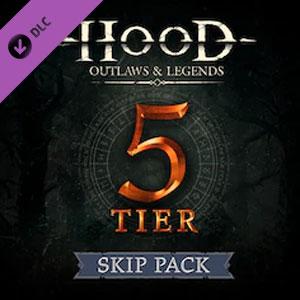 Hood Outlaws & Legends Battle Pass 5 Tier Skip Pack