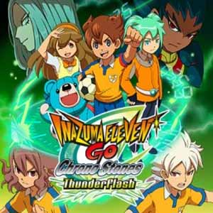 Acheter Inazuma Eleven Go Chrono Stones Thunderflash Nintendo 3DS Download Code Comparateur Prix