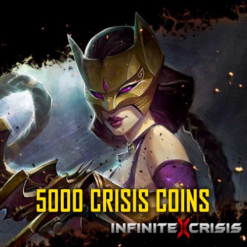 Acheter Infinite Crisis 5000 Crisis Coins Gamecard Code Comparateur Prix
