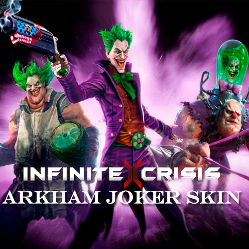 Infinite Crisis Arkham Joker Skin