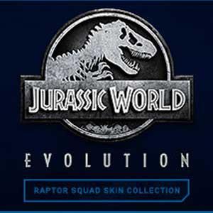 Jurassic World Evolution Raptor Squad Skin Collection