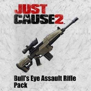 Just Cause 2 Bull's Eye Assault Rifle
