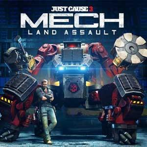 Just Cause 3 Mech Land Assault