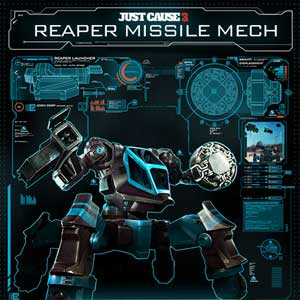 Just Cause 3 Reaper Missile Mech