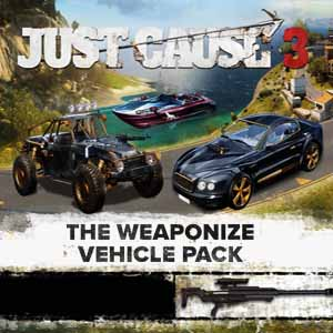 Acheter Just Cause 3 Weaponized Vehicle Pack Clé Cd Comparateur Prix