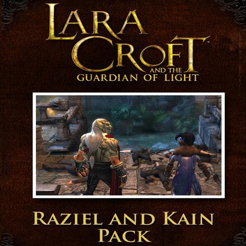 Lara Croft GoL Raziel and Kain Character Pack
