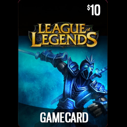 Acheter League Of Legends 10 USD Prepaid RP Cards US Gamecard Code Comparateur Prix