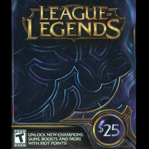 League Of Legends 25 USD 3280 Riot Points US