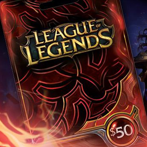 Acheter League Of Legends 50 USD Prepaid RP Cards US Gamecard Code Comparateur Prix