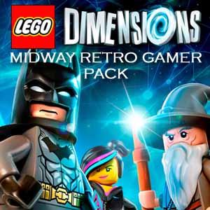 Acheter LEGO Dimensions Midway Retro Gamer Pack Clé Cd Comparateur Prix