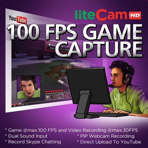 Acheter liteCam Game 100 FPS Game Capture Clé Cd Comparateur Prix