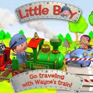 Little Boy Waynes Train