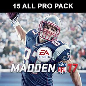Madden NFL 17-15 All Pro Pack Bundle DLC