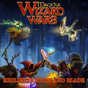 Acheter Magicka Wizard Wars Exclusive Staff and Blade Clé Cd Comparateur Prix