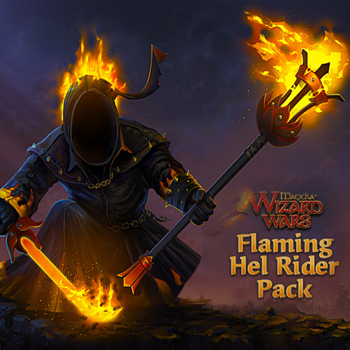 Magicka Wizard Wars Flaming Hel Rider Pack DLC