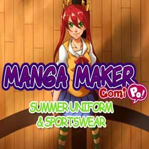 Acheter Manga Maker ComiPo Summer Uniform and Sportswear Clé Cd Comparateur Prix
