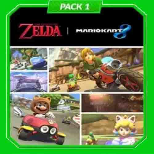 Acheter Mario Kart 8 Pack 1 Zelda Nintendo Wii U Download Code Comparateur Prix