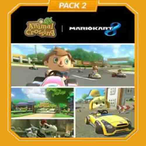 Mario Kart 8 Pack 2 Animal Crossing