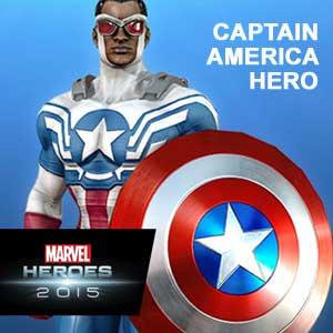 Acheter Marvel Heroes 2015 Captain America Hero Clé Cd Comparateur Prix