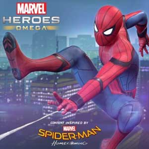 Marvel Heroes Omega Spider-Man Homecoming Pack