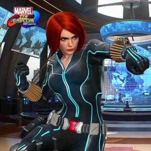 Marvel vs Capcom Black Widow