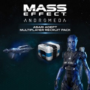 Mass Effect Andromeda Asari Adept Multiplayer Recruit Pack