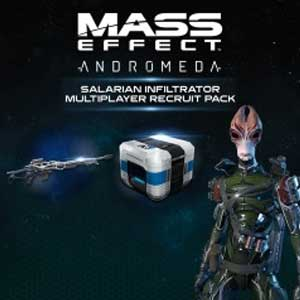 Mass Effect Andromeda Salarian Infiltrator Multiplayer Recruit Pack