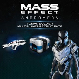 Acheter Mass Effect Andromeda Turian Soldier MP Recruit Pack PS4 Comparateur Prix