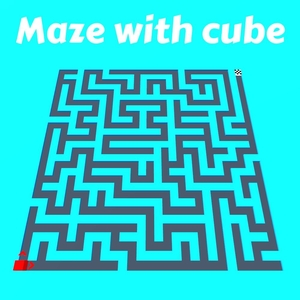 Maze with cube