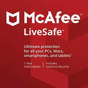 Buy McAfee LiveSafe 2020 CD KEY Compare Prices