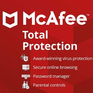 Acheter McAfee Total Protection 2020 Clé CD au meilleur prix