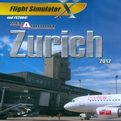 Acheter Mega Airport Zürich 2012 Flight Simulator X Addon Clé Cd Comparateur Prix