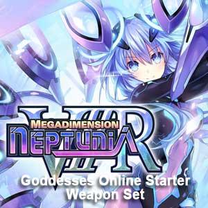 Megadimension Neptunia VIIR 4 Goddesses Online Starter Weapon Set
