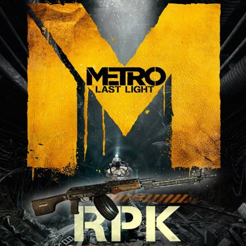 Acheter Metro Last Light RPK Weapon Clé Cd Comparateur Prix