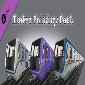Metro Simulator 2020 Moskva Paintings Pack