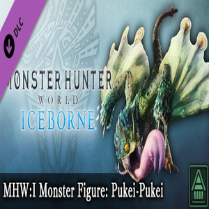 MHWI Monster Figure Pukei-Pukei